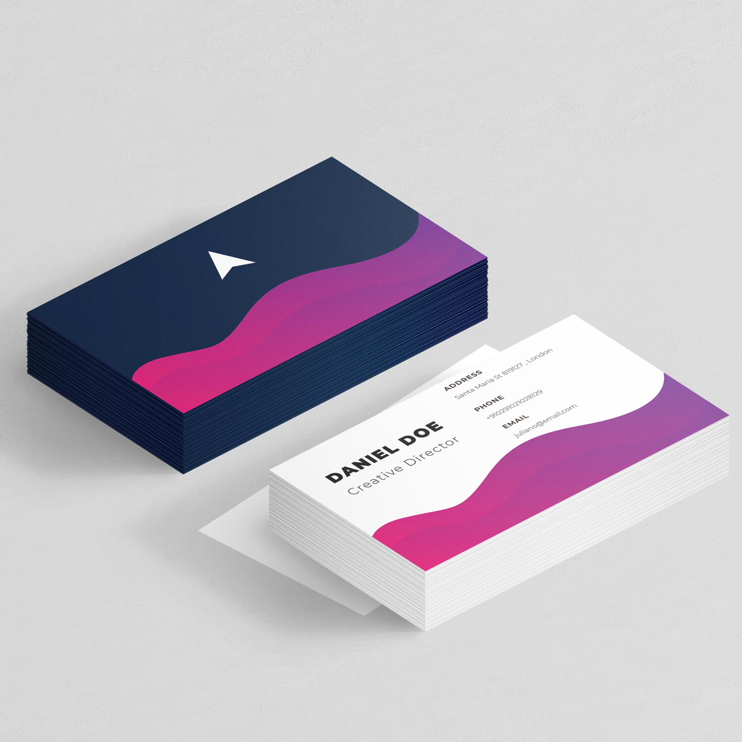 Daniel – Business Card design
