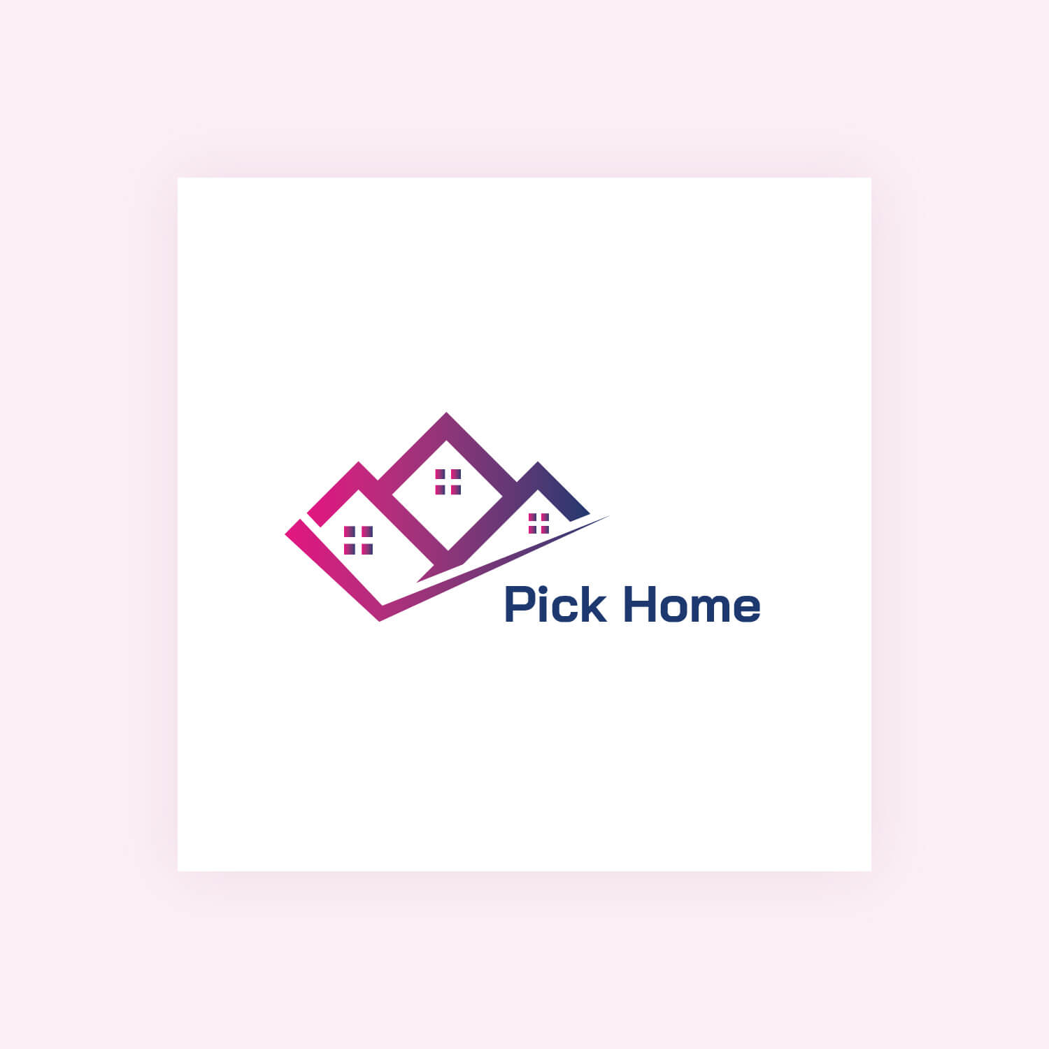 Pick House – Logo design
